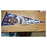 Three Baseball pennants Sammy Sosa, Mark M