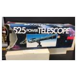 Tasco 525 Power Telescope Most boxes sealed with