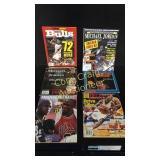 5 Magazines Of Michael Jordan