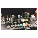 Glass Candle Holders, Anniversary Items,