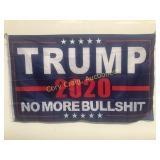 Trump 2020 No More Bullshit Flag