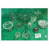 Crystal Glass, American Fostoria, Cut Glass+
