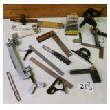Flat - Squares, Clamps, Rulers, etc.