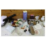 Lamps, Baking Pans, Iron & Misc. Items