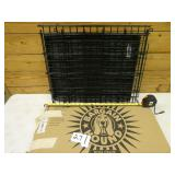 Dog crate with box