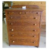 Antique Dresser - 7 Drawer