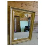 """Large Mirror Approximately 45"""" Tall & 33"""" Wide"""