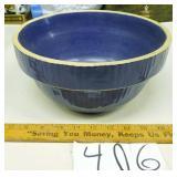 Blue Mixing Bowl Stonewear