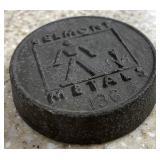 Belmont metals paperweight