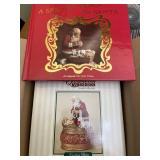 Santa and book