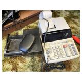 Sharp adding machine and other office supplies