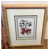Tomato plant print
