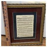 Music sheet print