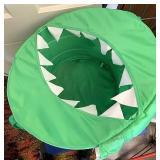 Alligator toy bag