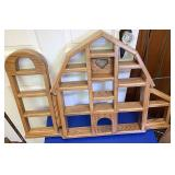 Barn knickknack shelf