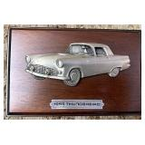 1955 Thunderbird plaque