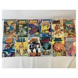 The Legion of superheroes comic books