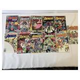 Avengers comic books