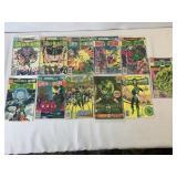 The green lantern comic books