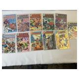 Marvel universe comic book