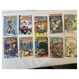 Set of comic book lot