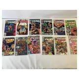The thing comic books
