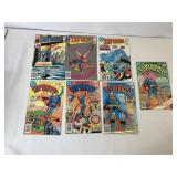 Superhero comic books