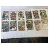 The new team titans comic book