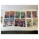 Vigilante comic books