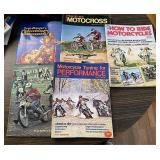 Vintage motocross books