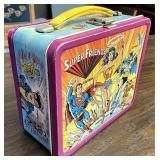 Super friends metal lunchbox no thermos