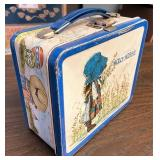 Holly Hobbie metal lunchbox no thermos