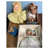 Baby shoes dolls and more