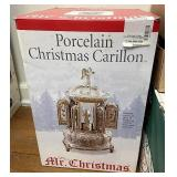 Mr. Christmas porcelain Christmas CARILLON