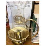 Brass Hurricane lamp