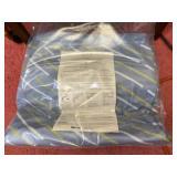 Blue air mattress