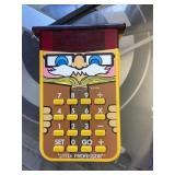 Vintage little professor calculator