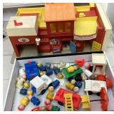 Fisher price play family village and tons of