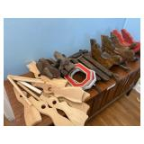 Wooden toy guns sleds and more