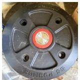 55 pound wheel weight