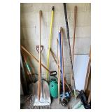 Shovels brooms & more