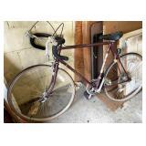 Vintage Fuji 10 speed bicycle