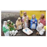 Grand venture blow mold nativity set