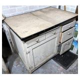 Chippy paint cabinet