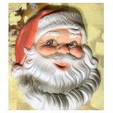 30 inch Styrofoam Santa face