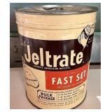 Jeltrate Advertising tin