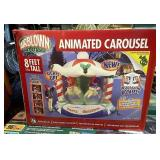 New in box inflatable carousel