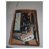 Large socket set, small socket set, Allen wrench
