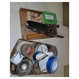 Miscellaneous Gorilla Tape drill bits, bolts,