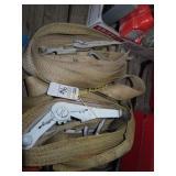 3 heavy duty ratchet straps